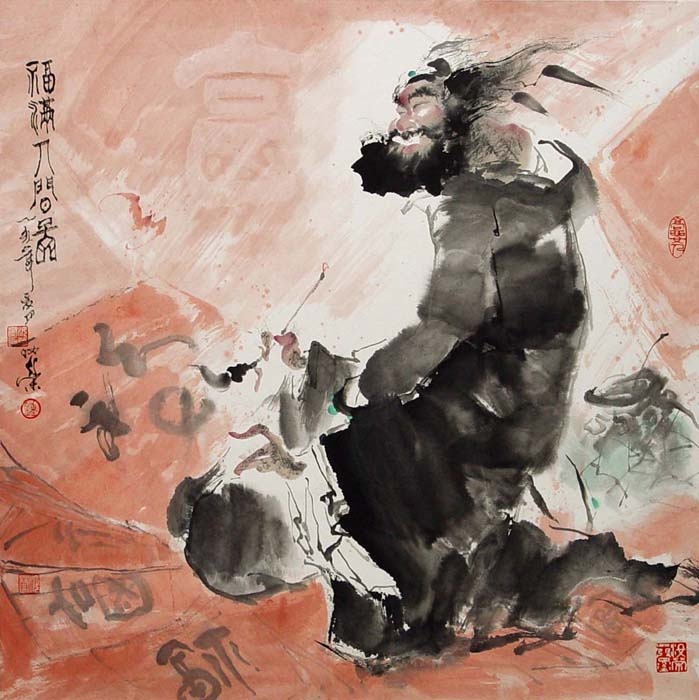 国画家钟汝荣作品欣赏 - tangtian167 - 雅宜清致